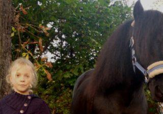 Sina und ihr Pferd