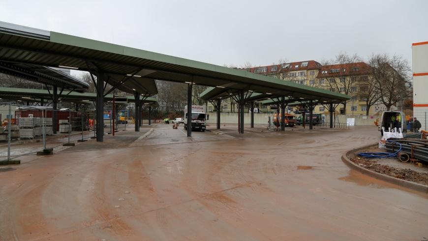 Erweiterung des Zentralen Omnibusbahnhofs