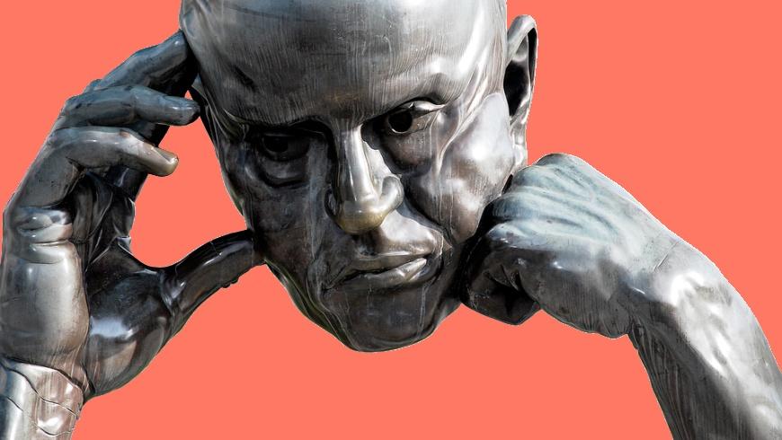 Denkpartner - Bronze