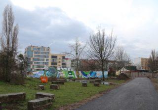 Baustelle Stauraumkanal