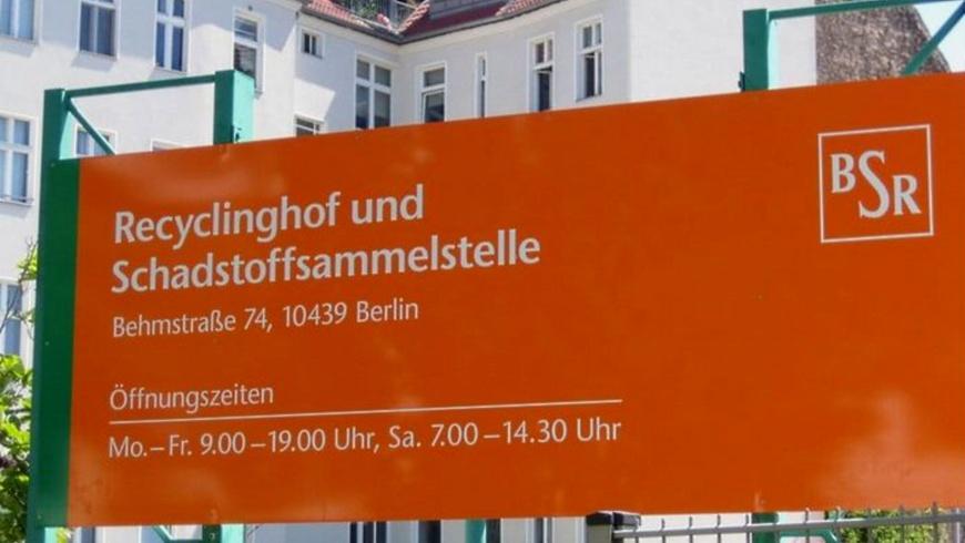 BSR-Recyclinghof Behmstraße