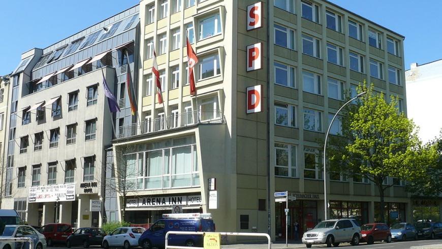 Parteizentrale der SPD-Berlin