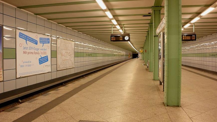 U-Bahnhof Strausberger Platz