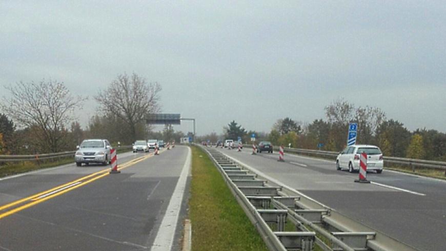 A 114 Autobahnzubringer Pankow