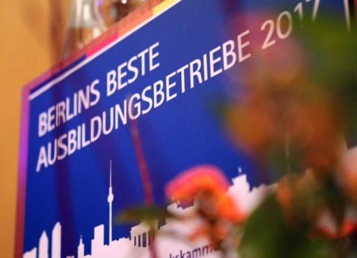 Berlins beste Ausbildungsbetriebe werden gesucht!