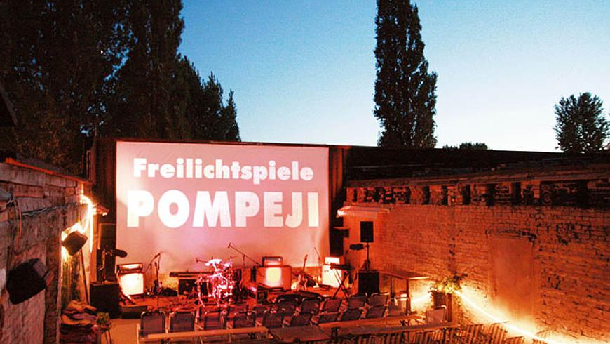 Freilichtkino Pompeji