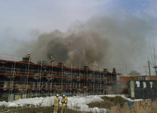 Großfeuer in der Hermann-Blanckenstein-Straße