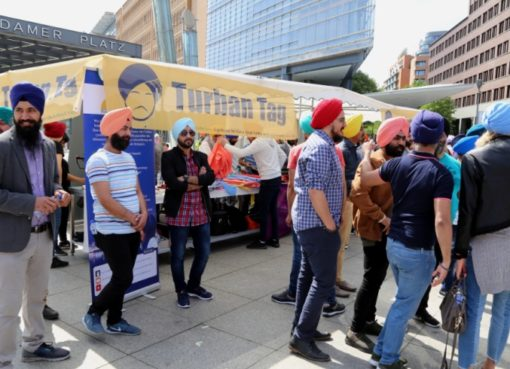 Turban-Tag der Sikh-Gemeinde
