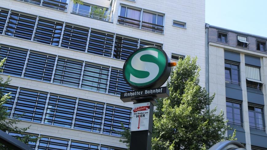 S-BhF. Anhalter Bahnhof