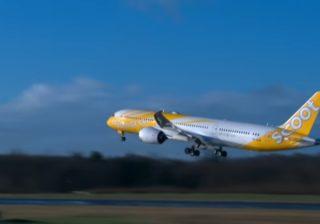 Scoot fliegt BOEING 787-8