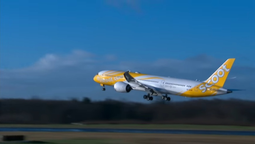 Scoot fliegt BOEING 787-8