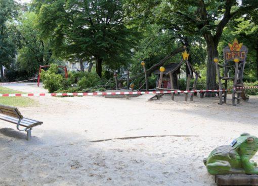 Spielplatz Arnswalder Platz