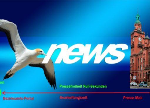 "Pressefreiheit: ""Null Sekunden"""