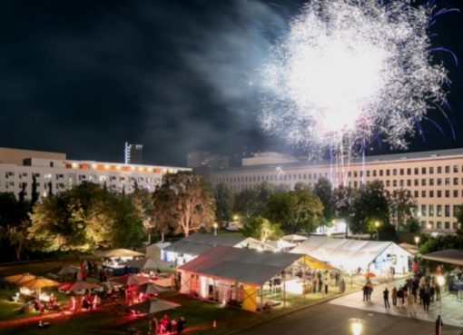Feuerwerksshow zum Großen Sommerfest des VBKI e.V.