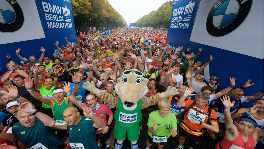 45. BMW BERLIN-MARATHON am 16. September 2018