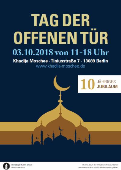 10 Jahre Khadija Moschee