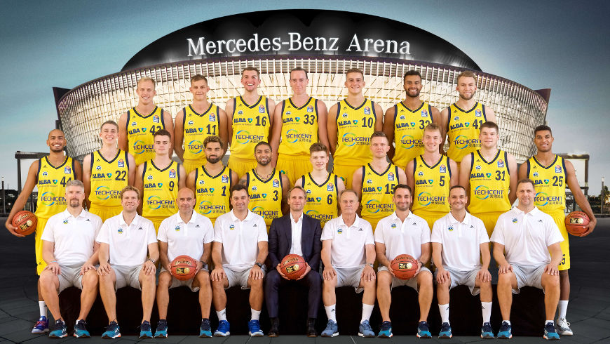 ALBA BERLIN Team - Foto: ©Camera4