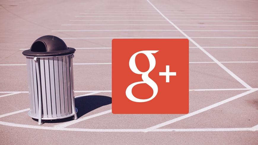 Google +abgeschaltet