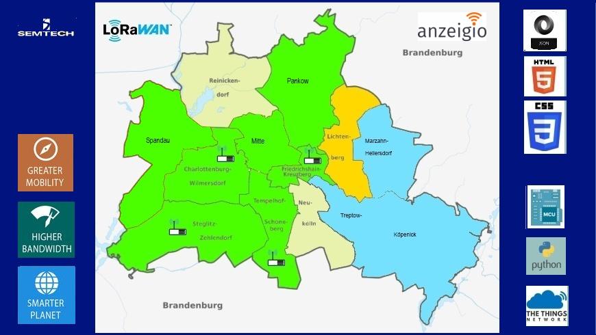 Mediennetzwerk Berlin mit Web + IoT