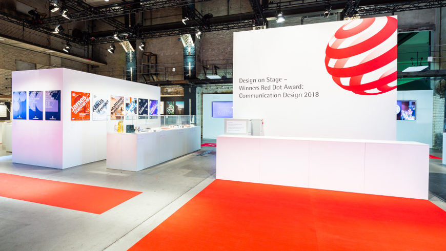 Red Dot Award 2018 im Museum für Kommunikation Berlin