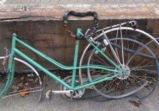 Schrott-Fahrrad