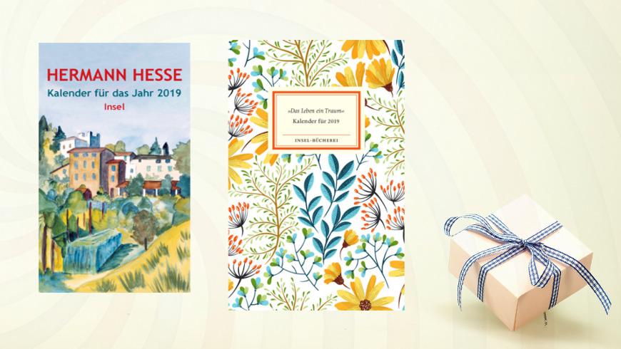 Kalenderbücher vom Insel/Surkamp Verlag