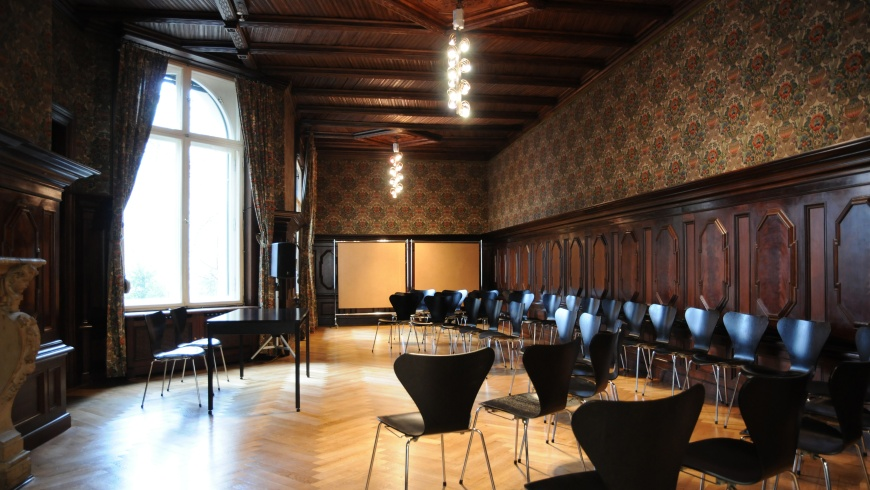 Kaminzimmer im Literaturhaus Berlin