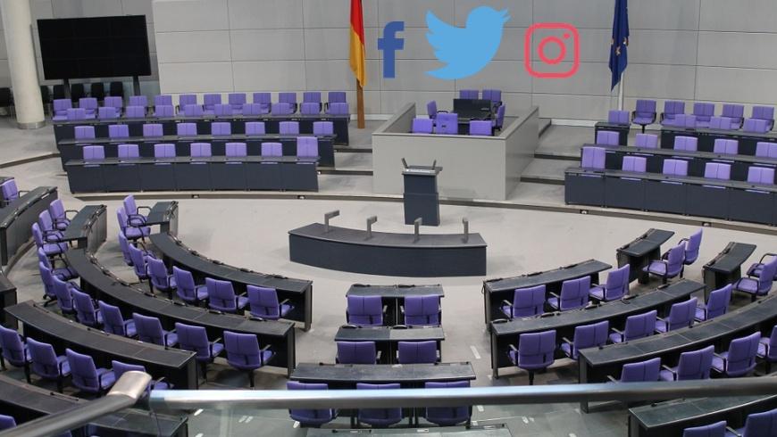 Facebook, Twitter und Instagram im Bundestag?