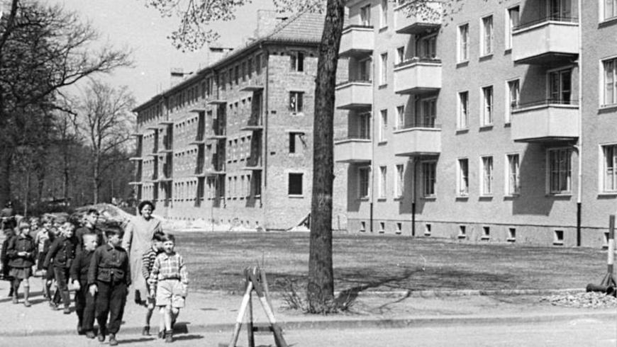 Wohnungsneubau 1957