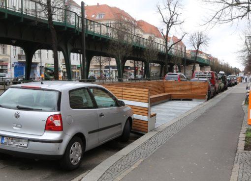 Parklet: Freiraum, Plattform, Showroom