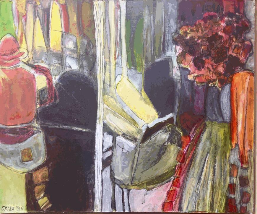Skadi Engeln: Abstrakte Malerei