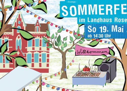 Sommerfest im Landhaus Rosenthal