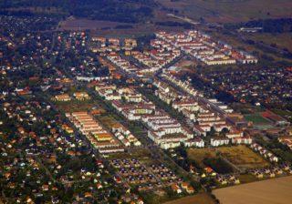 Karow im Luftbild