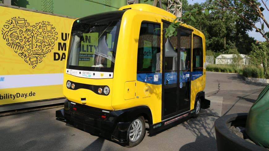easymile Minibus der BVG