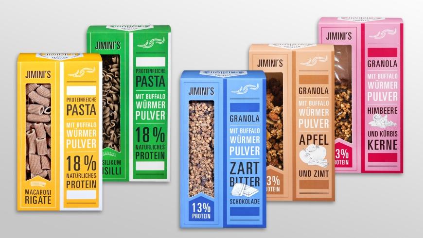 Kaufland: Nudeln und Müsli mit Insektenmehl