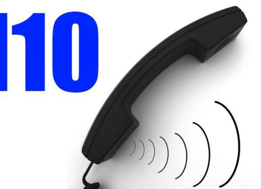 Abschaltung der Warteschleife bzw. Bandansage beim 110-Notruf - Grafik: pixabay