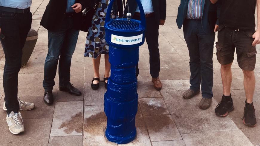 Trinkbrunnen auf dem Antonplatz