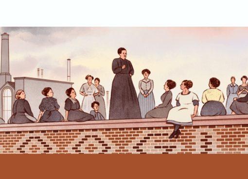 Google-Doodle zum 161. Geburtstag von Emma Ihrer