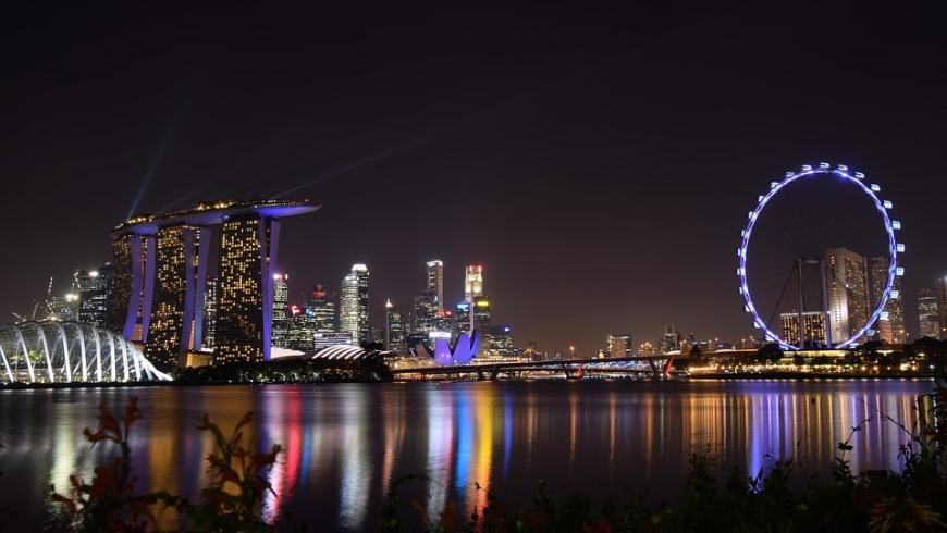 Singapur: Marina Bay