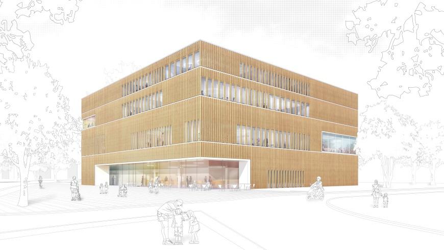 Neubau Bildungs- und Integrationszentrum Buch