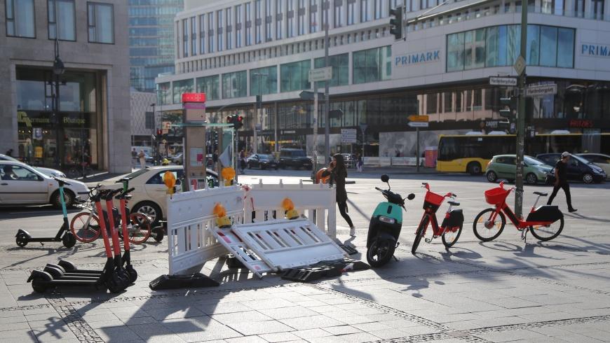 Neue Mobilität auf dem Hardenbergplatz