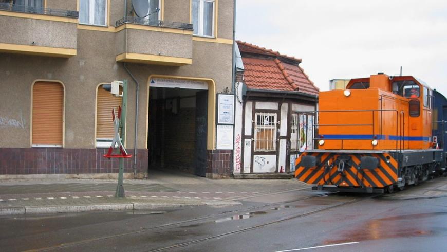 Industriebahn in Neukölln