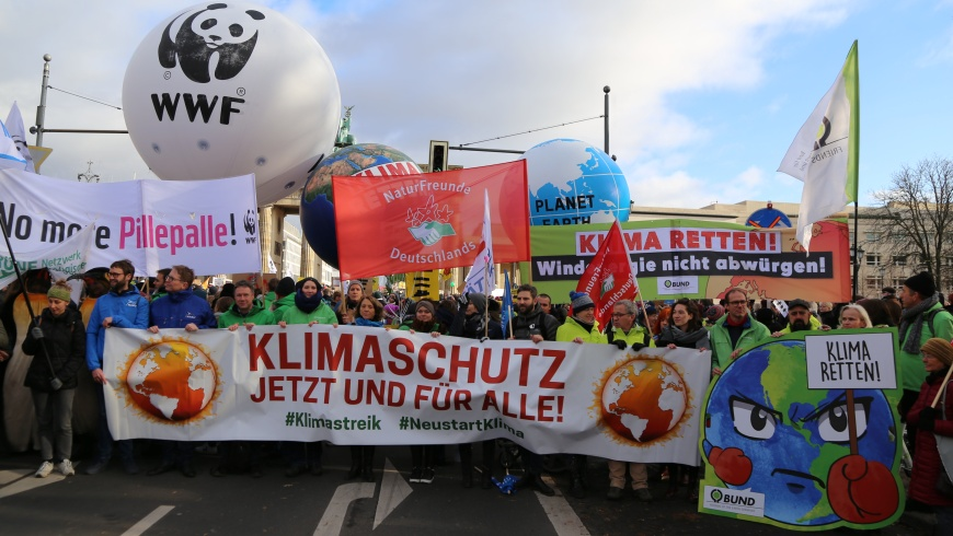 Klimaschutz-Aktionstag am 29.November 2019