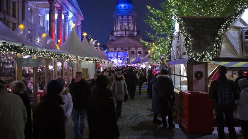 Weihnachtsmarkt auf dem Gendarmenmark