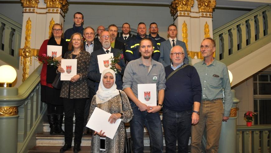 Preisträger_innen des Ehrenamtspreis 2019
