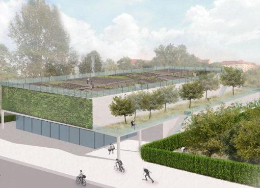 """Projekt: """"Grüne Turnhalle Pankow"""""""