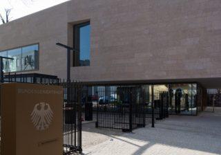 Bundesgerichtshof: Empfangsgebäude