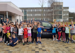 Kinderolympiade in Buch