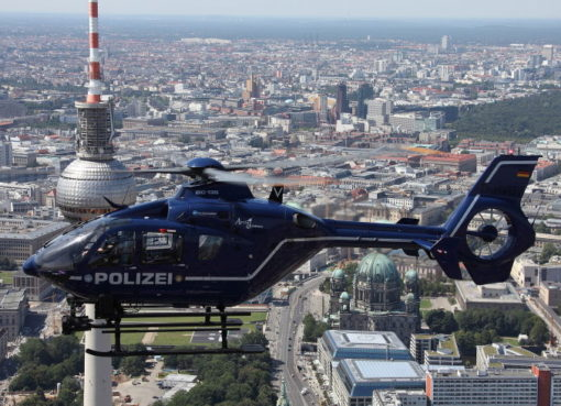 Polizeihubschrauber Eurocopter EC 135