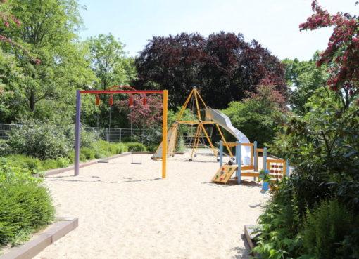 Spielplatz auf dem Solonplatz